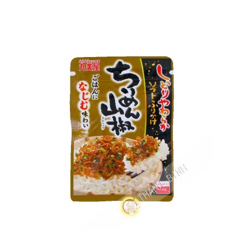 El condimento de Arroz Caliente MARUMIYA 28g Japón