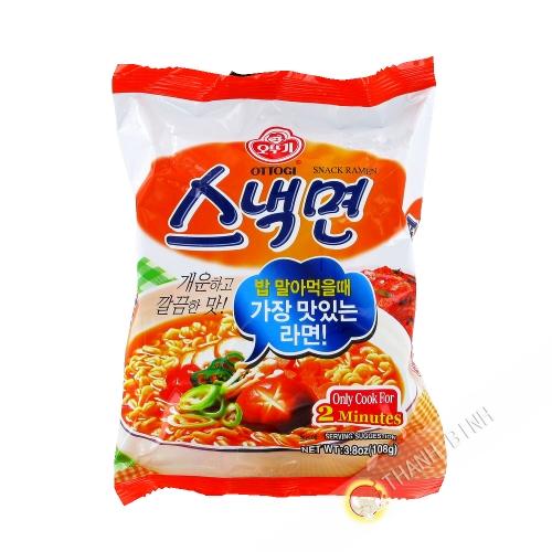 Tallarín Saltado instante Bibimen PALDO de 130g de Corea
