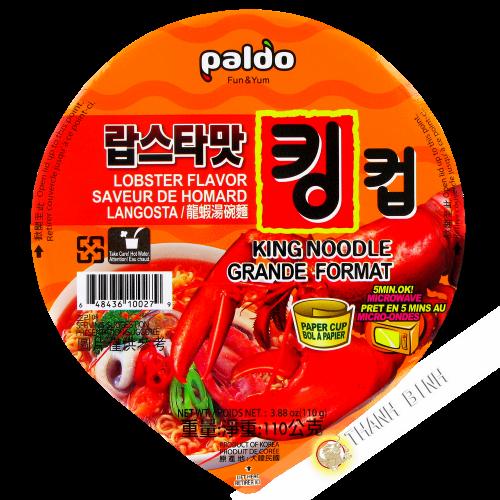 Zuppa di noodle Ramen Kim chi Ciotola il nongshim 112g Corea