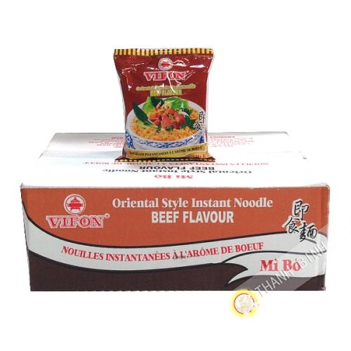 Soup noodle with beef VIFON cardboard 30x70g Vietnam