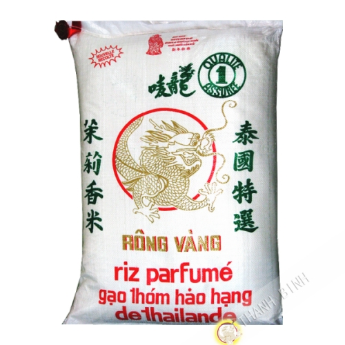 Rice fragrant long DRAGON GOLD 20kgs New Harvest 2021 Thailand
