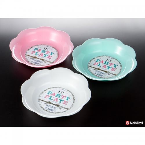 Piastra di plastica per il partito Ø27,8xH5cm NAKAYA Giappone