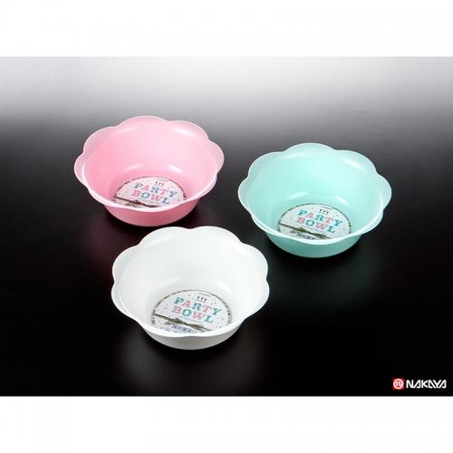Récipient Bol plastique pour fête Ø20xH7cm NAKAYA Japon