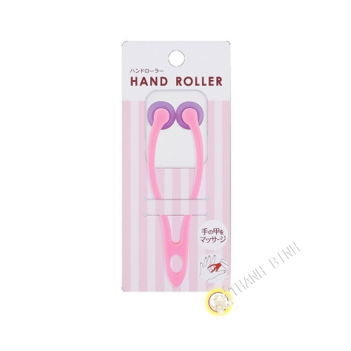 Molette massage main plastique 4x12cm KOKUBO Japon