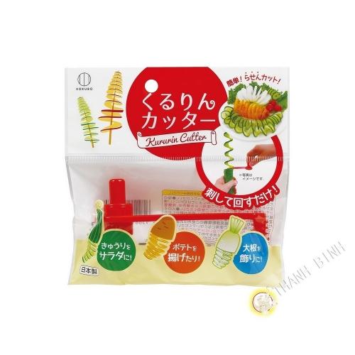 El tamaño de las verduras en Acordeón de plástico 11cm KOKUBO Japón