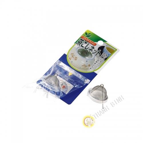 Filtro da tè a sfera in acciaio inox Ø2,5cm ECO Giappone