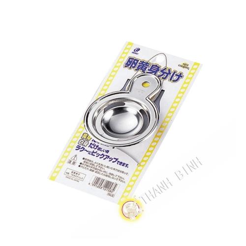 Séparateur jaune oeuf inox Ø7,5cm KOHBEC Japon