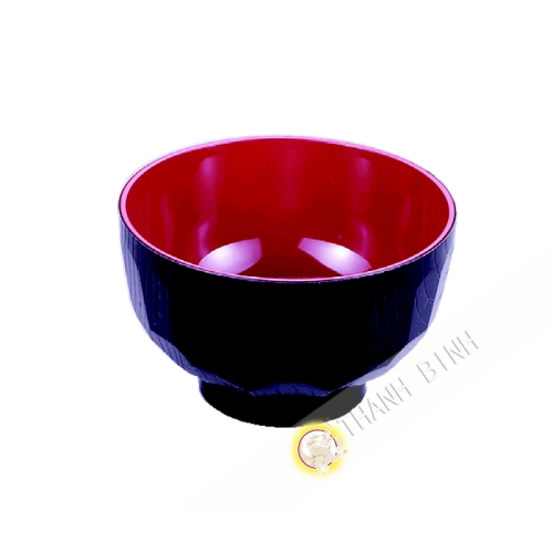 Soup bowl plastic lacquered 11xH6cm KOHBEC Japan