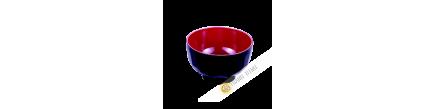 Bol à soupe plastique laqué 11xH6cm KOHBEC Japon
