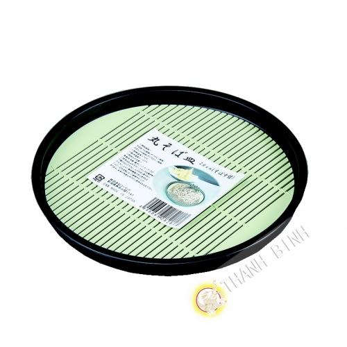 Teller runde soba kunststoff 20cm KOHBEC Japan