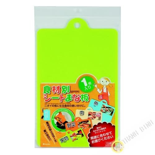 Planche à découpe fruits souple 24x38xH0,1cm INOMATA Japon
