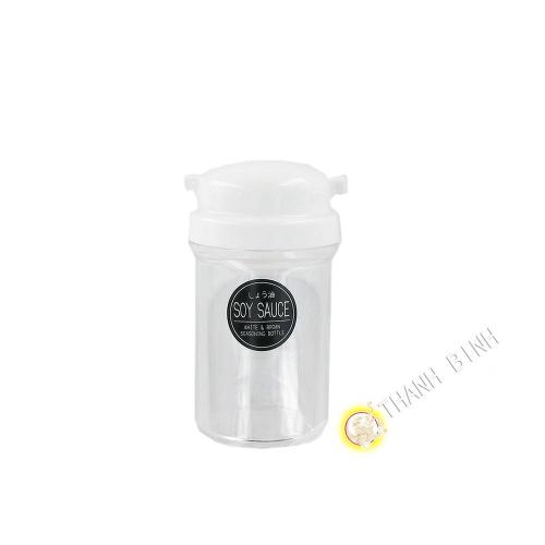 Bote de salsa vertedero de plástico blanco 5x11cm NAKAYA Japón