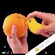 Size Cup orange plastic 12cm INOMATA Japan