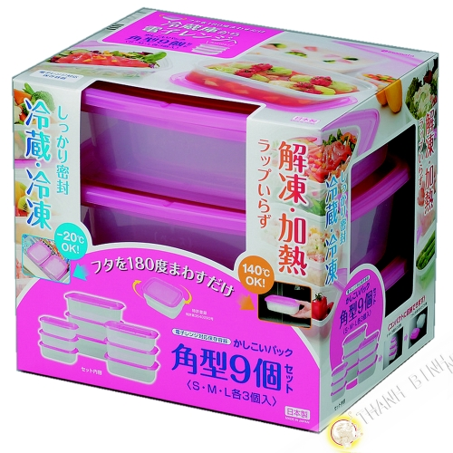 框食品塑料的矩形微波炉和冰箱,很多9颗玫瑰INOMATA日本