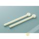 Clip / clamp farm plastic sachet ivory 3x24cm, lot of 2pcs INOMATA Japan