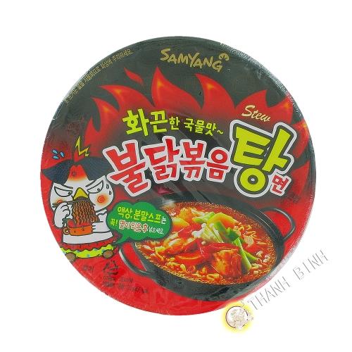Ramen Spicy Hot Chicken Stew Type SAMYANG 120g Corée