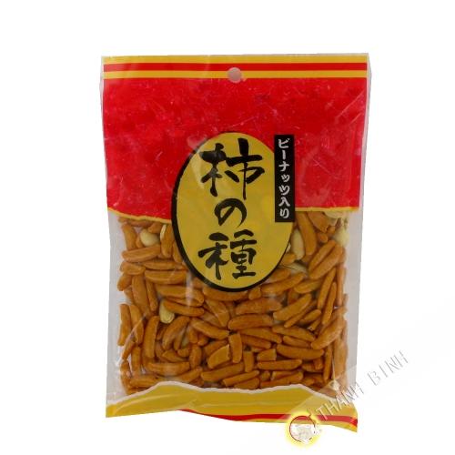 Crackers cacahuète et riz 145g Japon