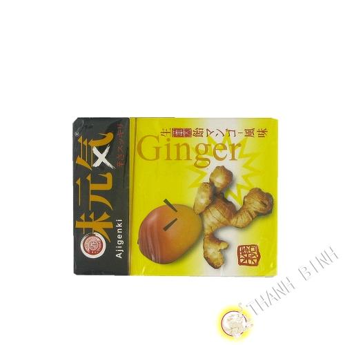 Bonbon gingembre arôme mangue Ajigenki 60g