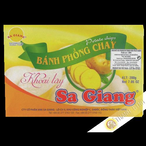 Beignet pomme de terre SA GIANG 200g Vietnam