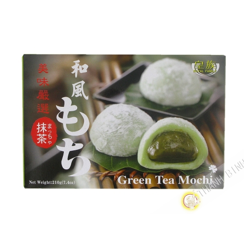 Mochi green Tea, ROYAL FAMILY 210g Taiwan