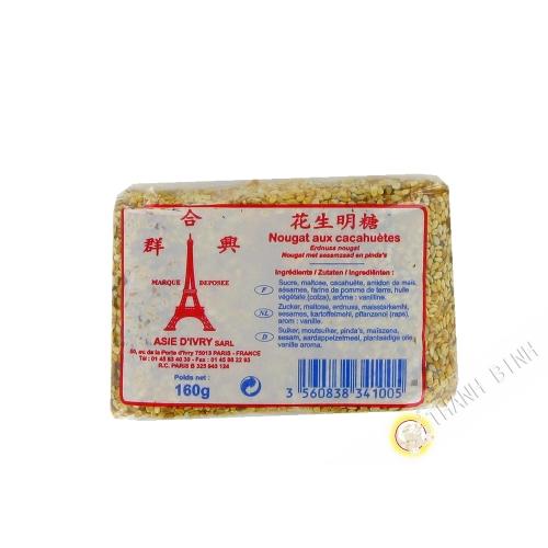 Il torrone di arachidi ASIA IVRY 160g Francia