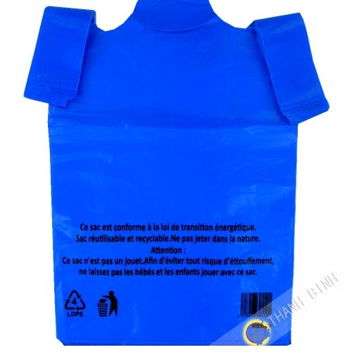 Bolsa de bretel azul GM 30x16x55cm 50pcs 400g China