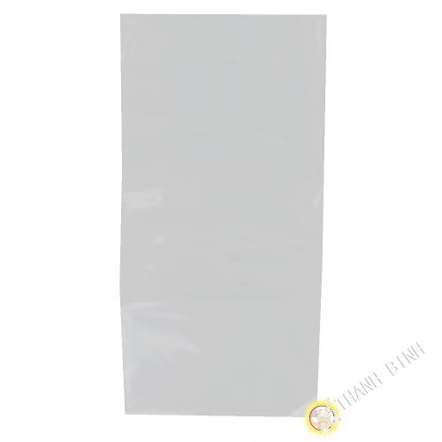 Sac plastique épais transparent 16x32cm 100pcs 450g Chine