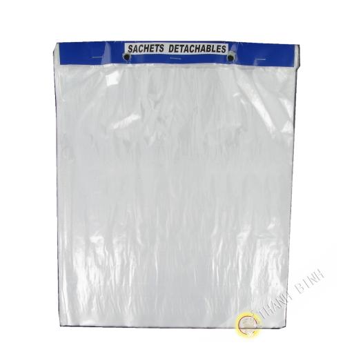 Sachets détachables transparent MM 30x35cm 100pcs 400g Chine