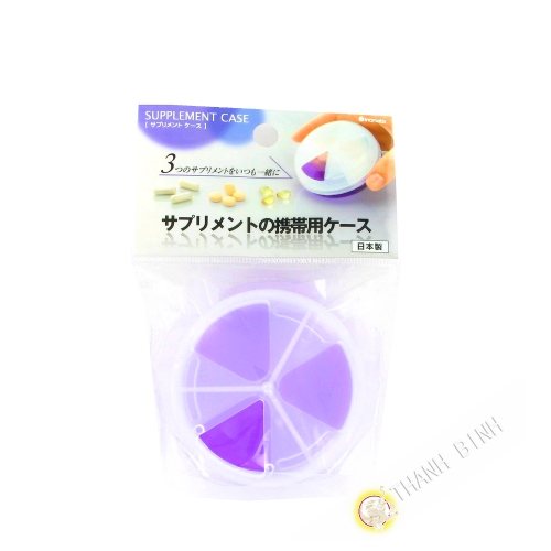 Dosierpumpe für arzneimittel violette Ø7,5cmx3,8cm INOMATA, Japan