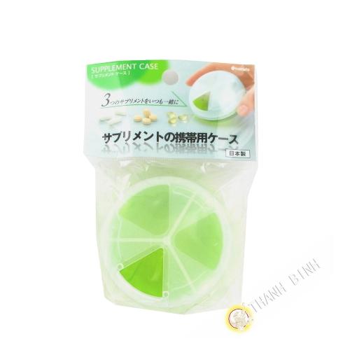 Dosing drug green Ø7,5cmx3,8cm INOMATA Japan