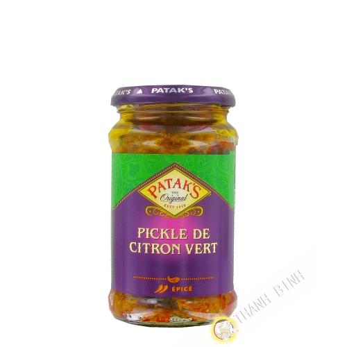Lime pickle mild PATAK'S 283g Royaume-Uni