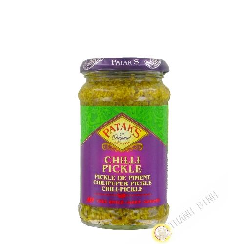 Chilli pickle hot PATAK'S 283g Royaume-Uni