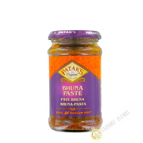 Bhuna paste PATAK'S 283g Royaume-Uni