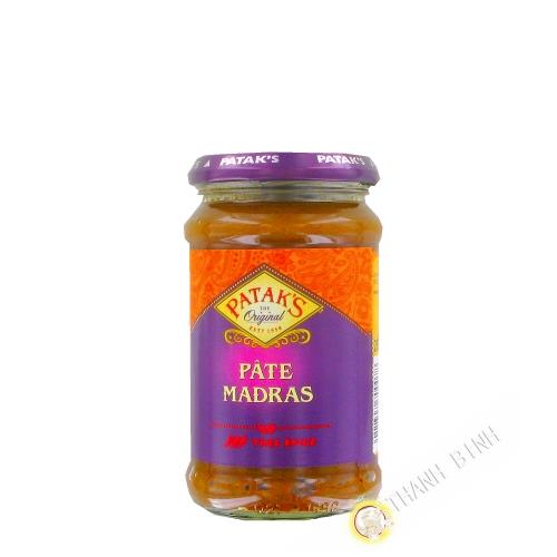 Madras paste PATAK'S 283g Royaume-Uni