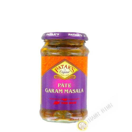 Garam Masala paste PATAK'S 283g Royaume-Uni