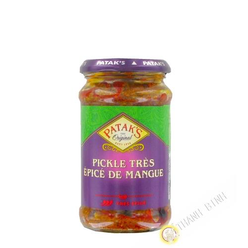 Mango pickle Hot PATAK 283g United Kingdom