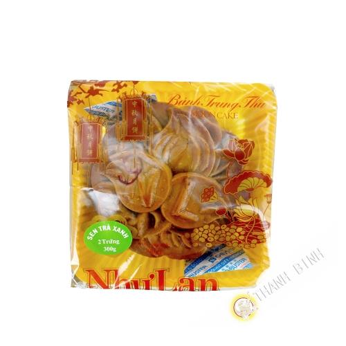 Torta di luna lotus + tè verde NHU LAN 300g Vietnam