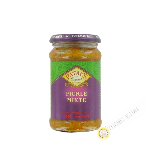 Mixed pickle paste PATAK S 283g United Kingdom