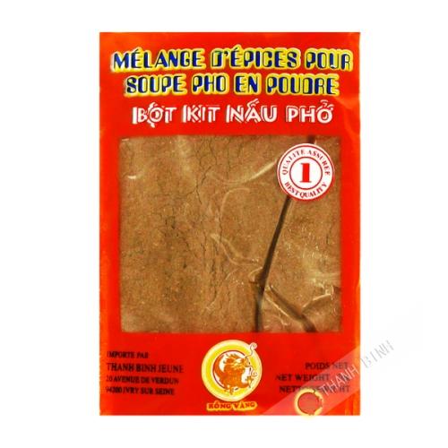 Mélange épices pour soupe pho moulu DRAGON OR 50g Vietnam