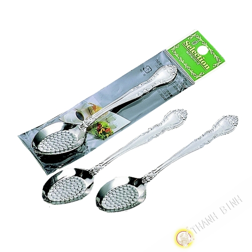 Teaspoon to strawberry, lot of 3pcs stainless steel 13cm KOHBEC Japan