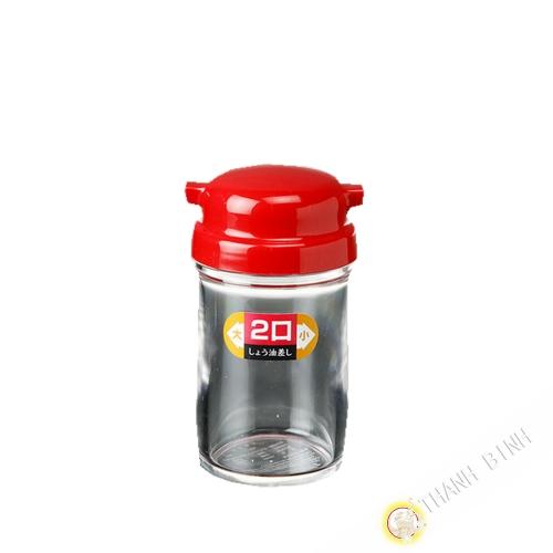 Pentola di salsa di beccuccio di plastica rosso 5x11cm NAKAYA Giappone