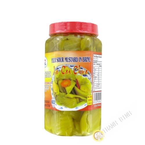 Foglia di senape, salate 810g Vietnam