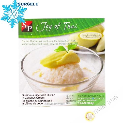 De postre, el arroz pegajoso durian 200g - SURGELES