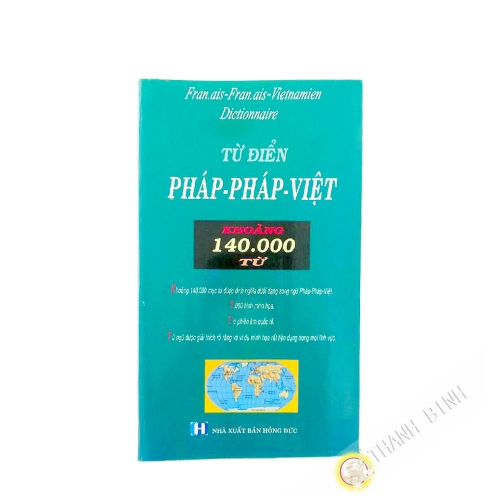 Dictionary French-Vietnamese and Vietnamese-French 140 000 words