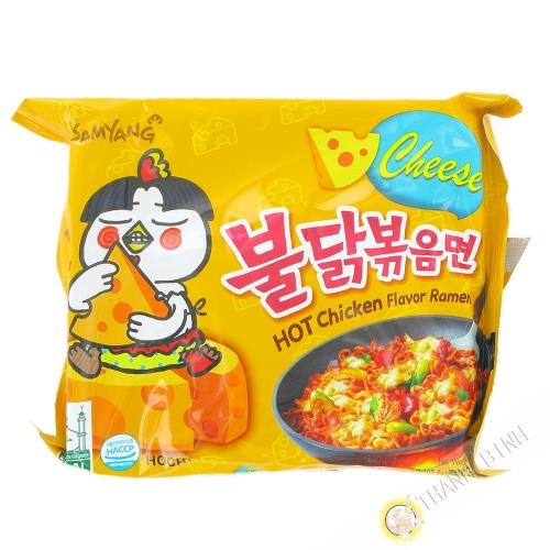 Ramen piccante formaggio SAMYANG 140g di Corea