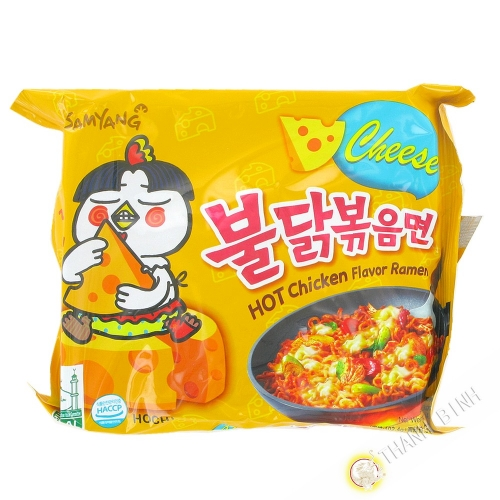 Ramen spicy cheese SAMYANG 140g Korea