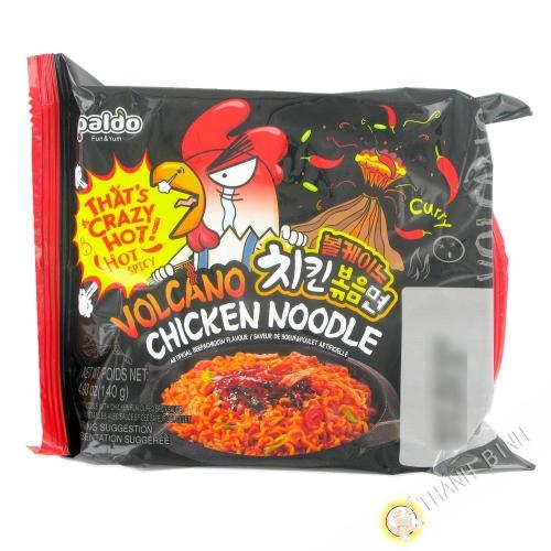 Ramen spicy curry PALDO 140g Corée