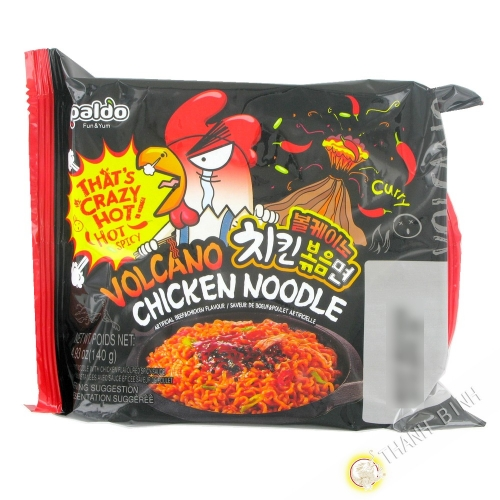Ramen spicy curry PALDO 140g Korea