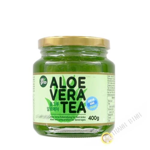 Tea Jelly) and aloe vera (ALL GROO 400g Korea