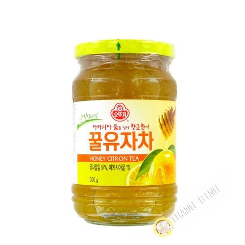 Té con limón o miel OTTOGI 500g de Corea